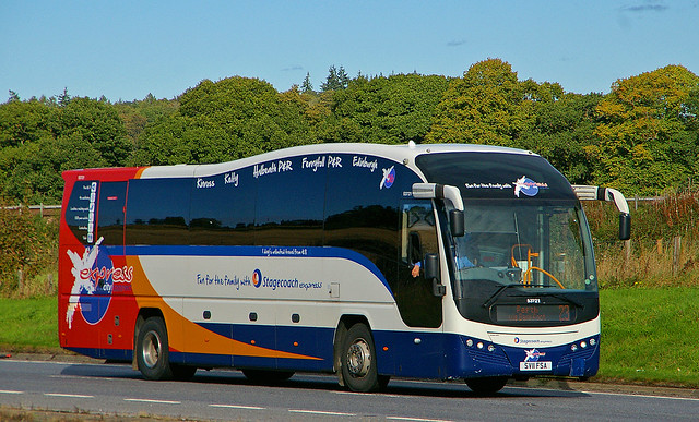 VOLVO B9R Plaxton Elite - express city Stagecoach Perth