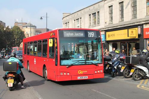 Go-Ahead London SOE3 LX09AYH