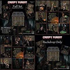 M-BdP :: Creepy Forest Backdrop - Exclusive for FOCUS Fair