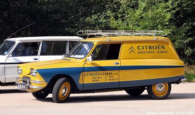 Citroën Ami 8 Break Service Tôlée 1972