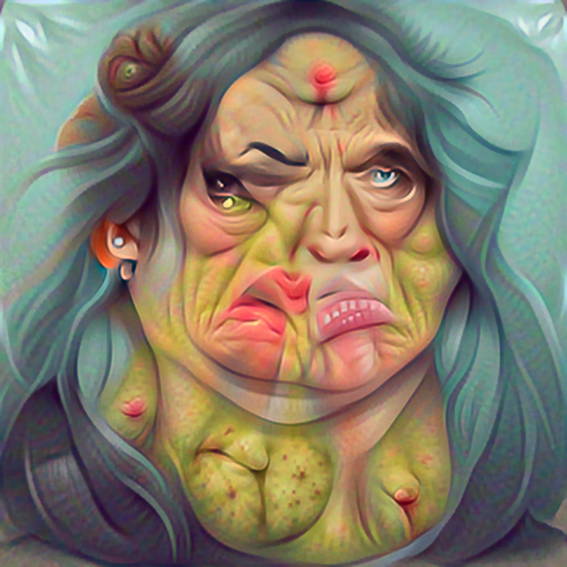 'vector art of an ugly woman' PyramidVisions Text-to-Image