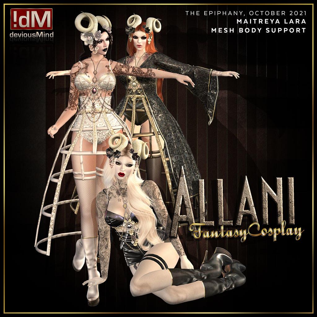 """PREVIEW: !dM deviousMind """"Allani"""" @ The Epiphany"""