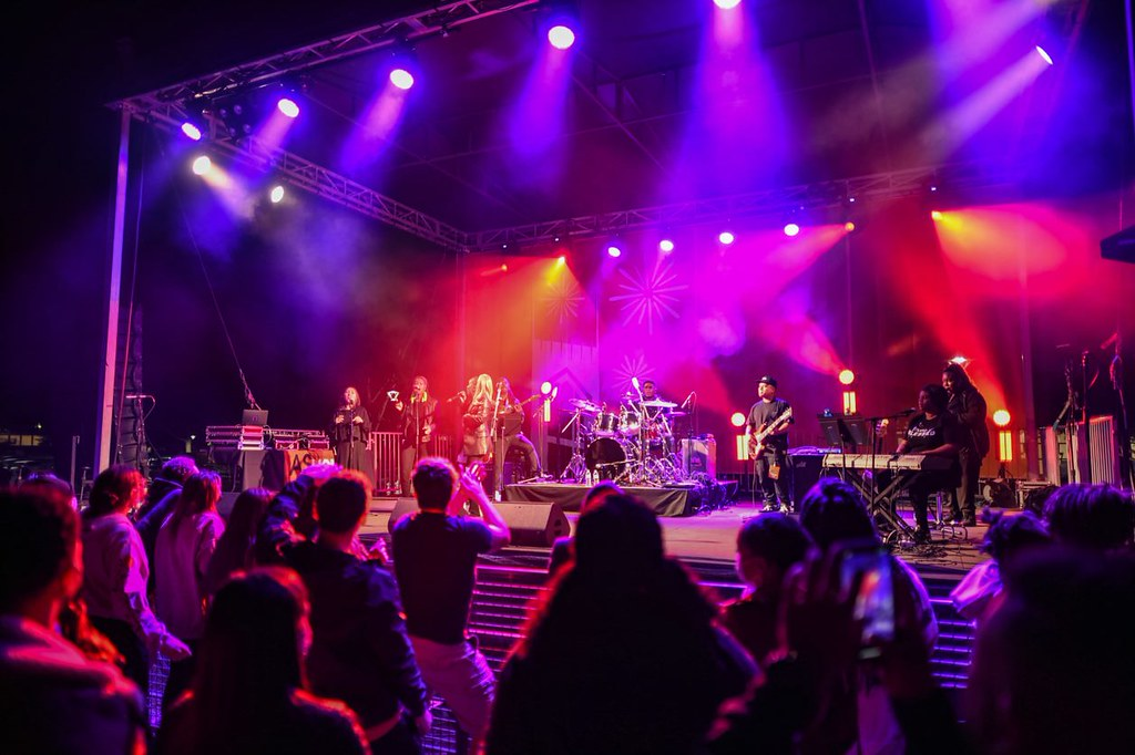 Pacific Roars Back: Concerts