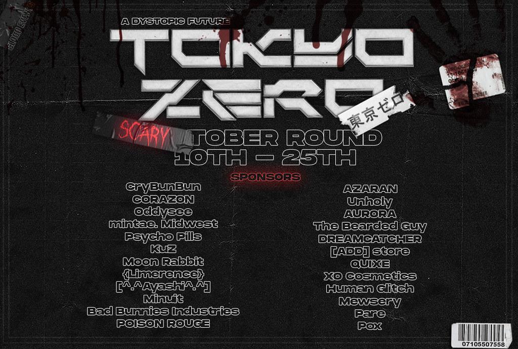 TOKYO ZERO SCARYTOBER IS OPEN! 🎃