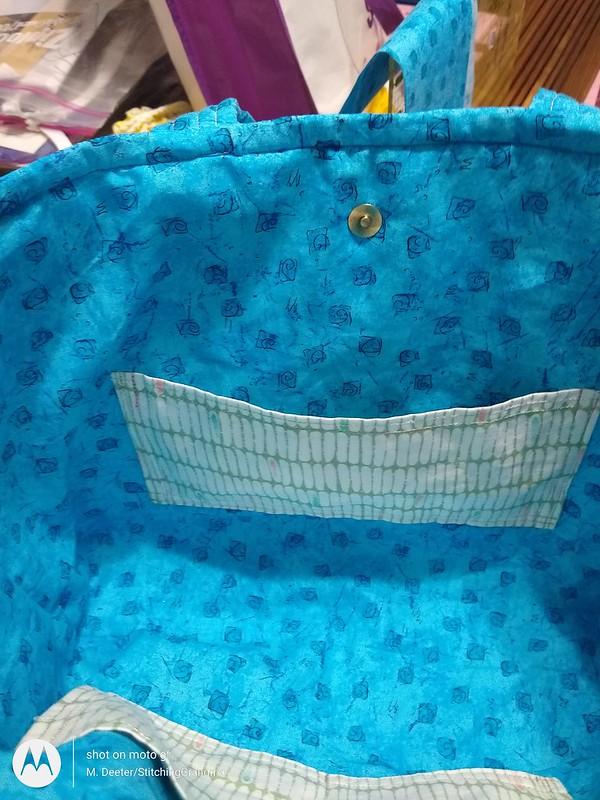 Inside pockets Anne's bag