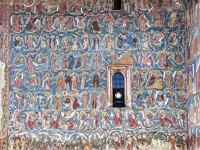 VATRA MOLDOVITEI, ROMANIA - Annunciation Orthodox monastery/ ВАТРА-МОЛДОВИЦЕЙ, РУМЫНИЯ - Благовещенский православный монастырь