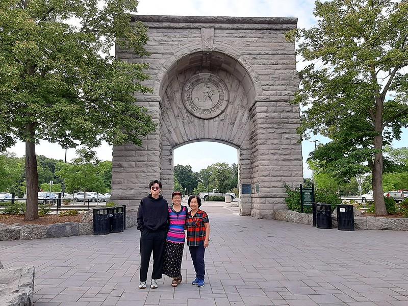Adams Hydroelectric Plant Entrance Arch  (2)