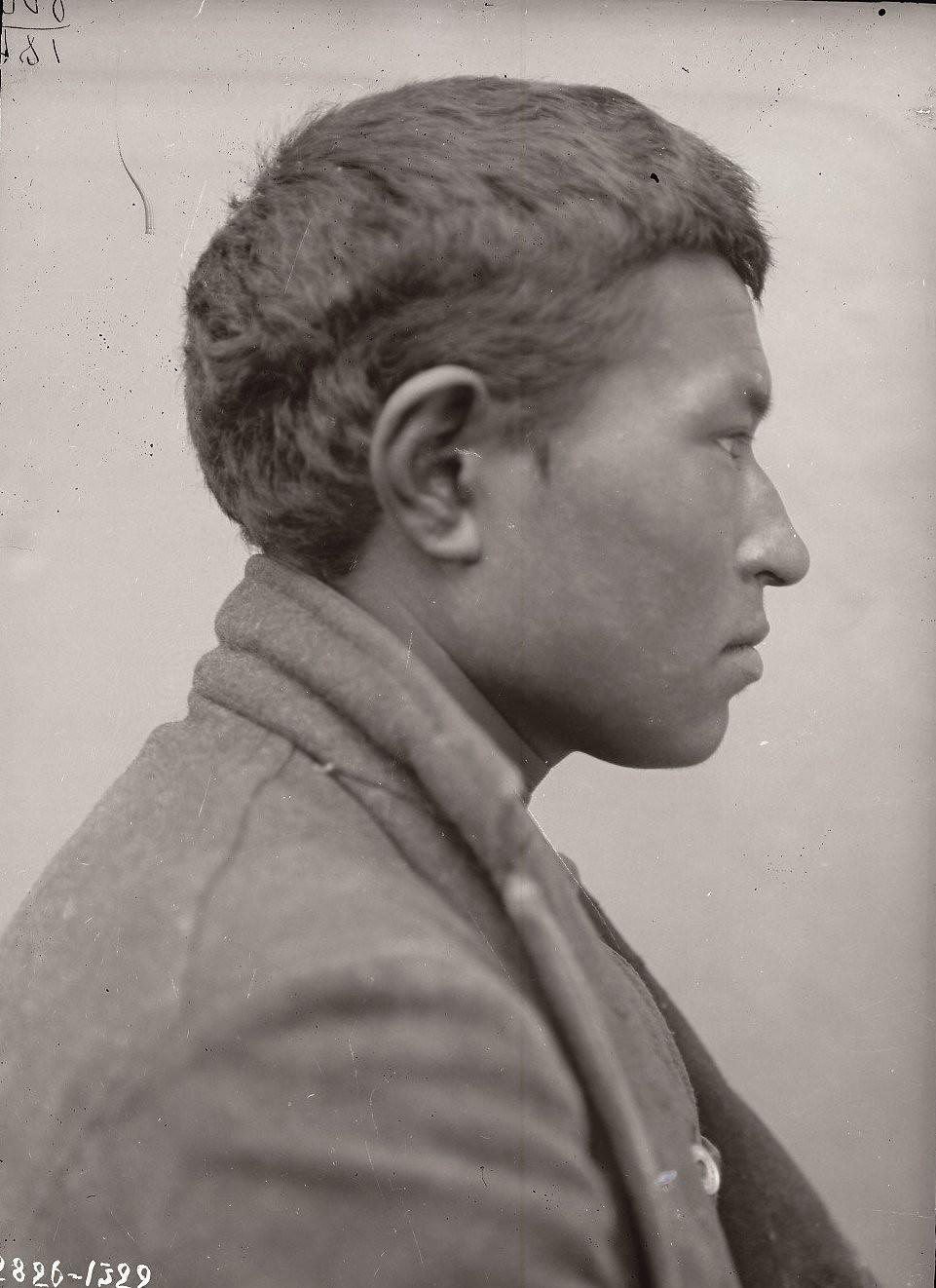 1909. Константин Голых (профиль). Андреяновские острова, Атка остров