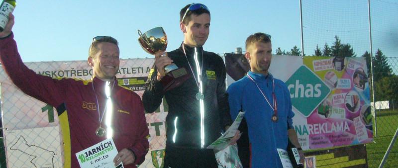 Podzimních Deset jarních kilometrů vyhrál v traťáku Novák