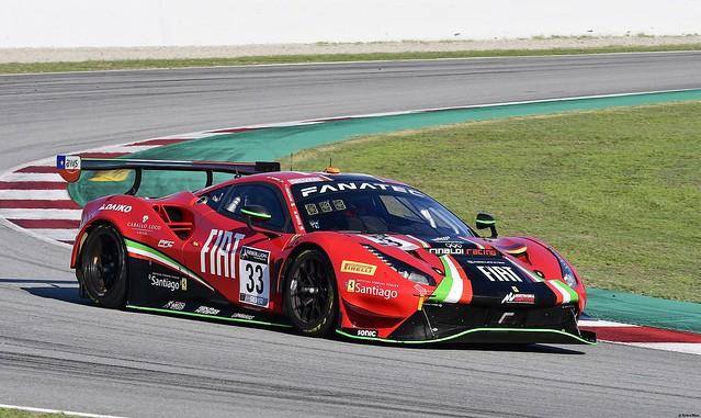 Ferrari 488 GT3 / David Perel / ZAF / Benjamin Hites / CHL / Fabrizio Crestani / ITA / Rinaldi Racing