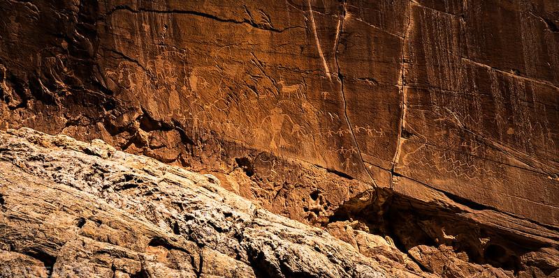 Hard-To-See Petroglyphs