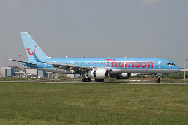 G-OOBC Boeing B.757-28A Thomson Airways