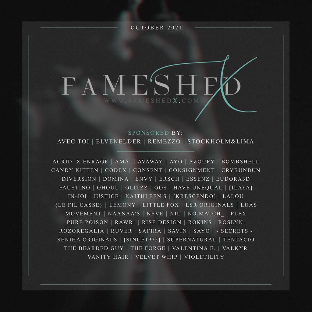 FaMESHed X:  October 2021