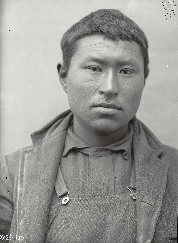 1909. Константин Голых (фас). Андреяновские острова, Атка остров