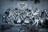 Monochrome street art