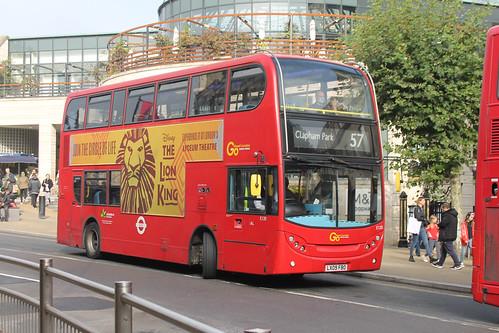 Go-Ahead London E120 LX09FBO