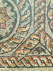 Detail of the Fordington Mosaic - Dorchester