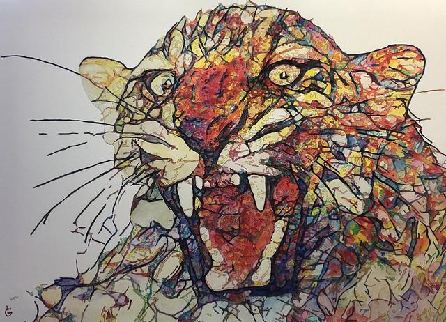 Leopard (Painting)