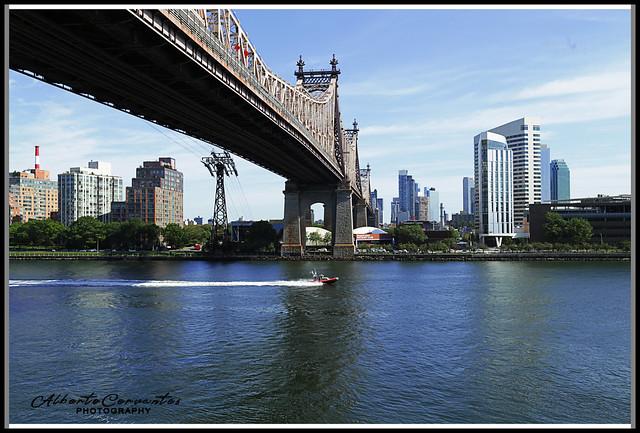 ROOSEVELT ISLAND. NEW YORK CITY.