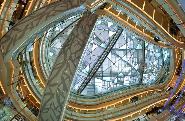 Shanghai - IFC Mall Amazing Escalators