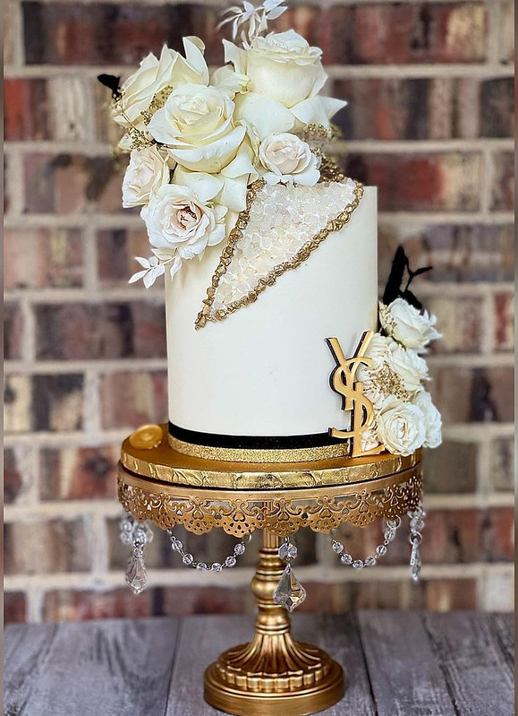 Cake by Batter and Blossom Cakery