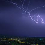 10. Oktoober 2021 - 21:04 - Thunderstorm Athens 10-10-2021