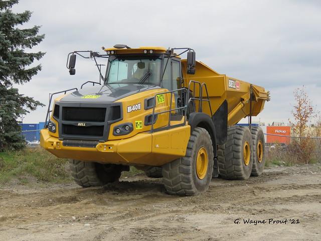 BELL B40E Articulated Dump Truck