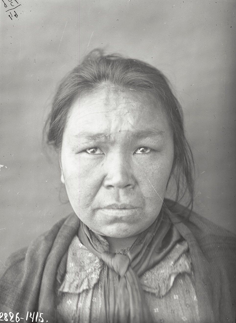 1909. Клеопатра Шемагинская (фас). Уналашка остров, селение Уналашка