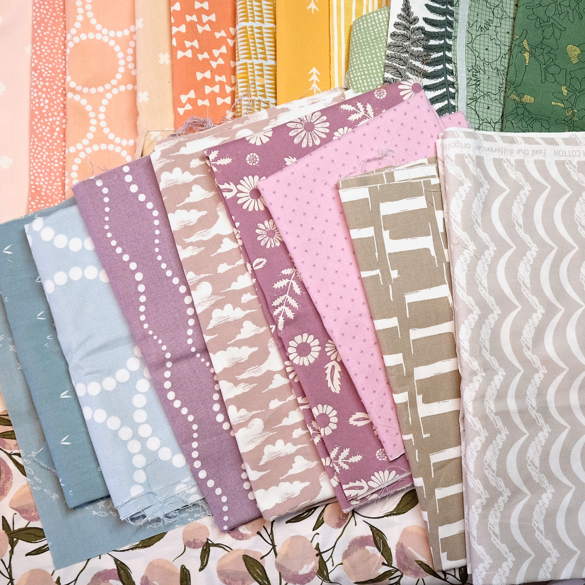 The Penny QAL Fabric Pull - Kitchen Table Quilting