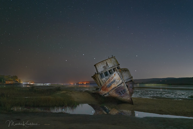 Point Reyes Shipwreck and the Big Dipper