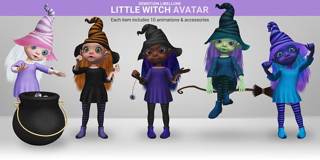 SEmotion Libellune Little Witch Avater