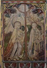 Loddon screen: Annunciation