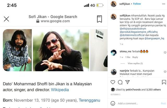 Betul Ke Soffi Jikan Kini Sudah Bergelar Datuk?