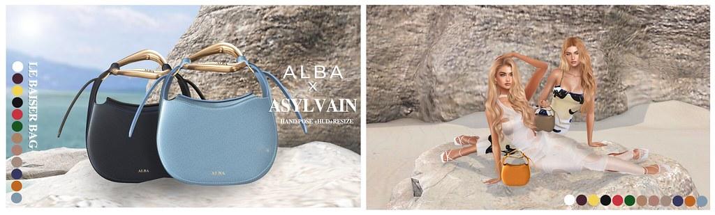 ALBA x ASYLVAIN – Le Baiser Bag NOW@THE GRAND EVENT