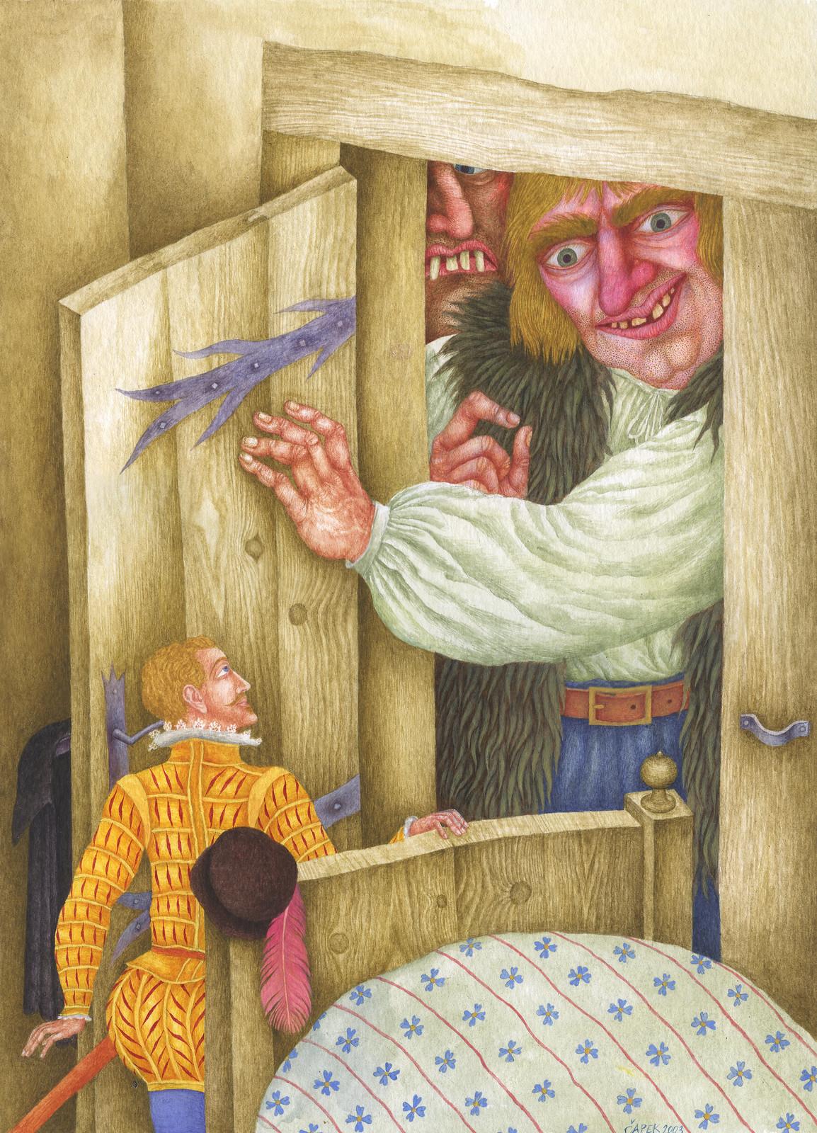 Jindra Capek - Tales of the Vikings, Illustration 1