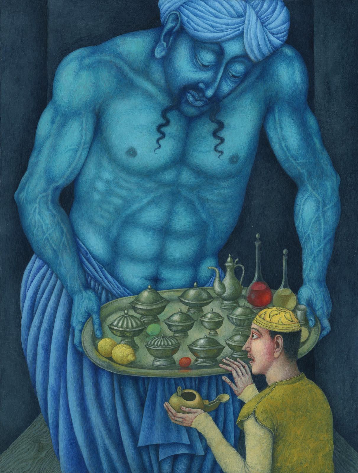 Jindra Capek - Athousand and One Nights, Illustration 4
