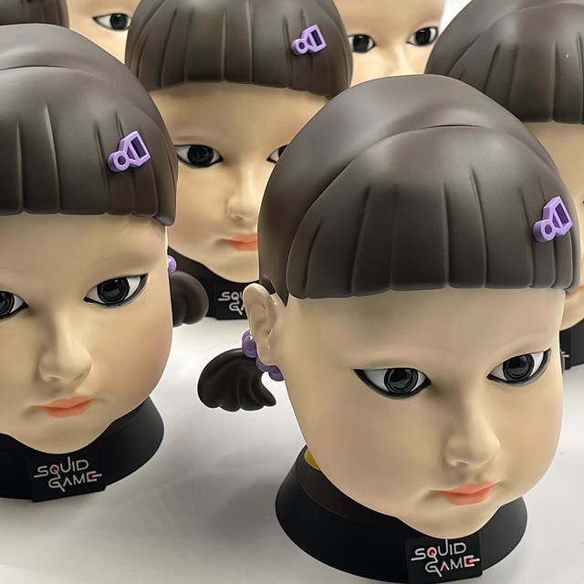SQUID GAME Doll Heads by Twelvedot on TOYSREVIL