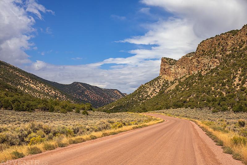 Irish Canyon Road