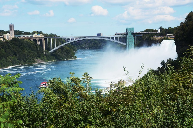 View to southwest at Horseshoe Falls from The Terrapin Point (3)