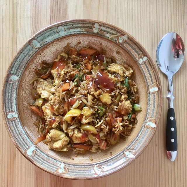Egg Fried Rice, again… Eierbratreis / Nasi Goreng