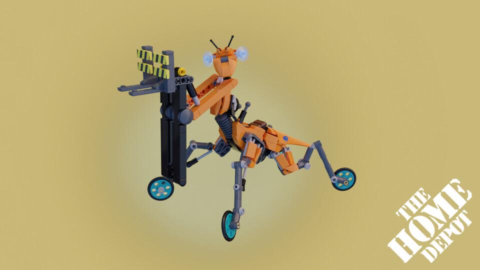 """THDE 2400 M-49 """"Mantis"""""""
