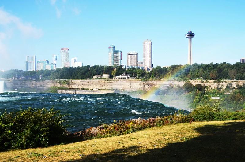 Niagara City sky line from Goat Island (5)