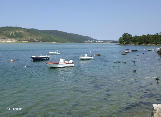 Ria de Corme e Laxe. Costa da Morte. A Coruña.