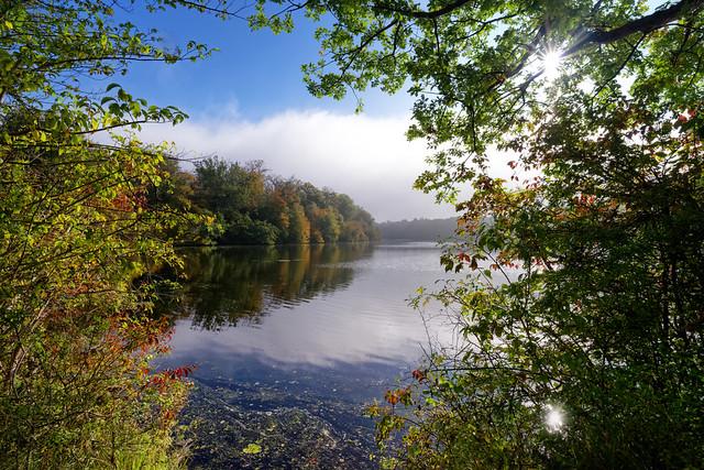 Commelles lake