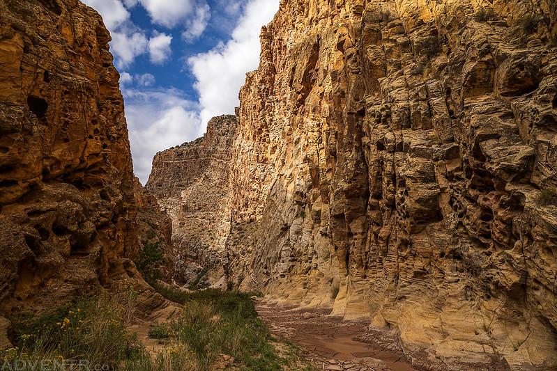 Down-Canyon