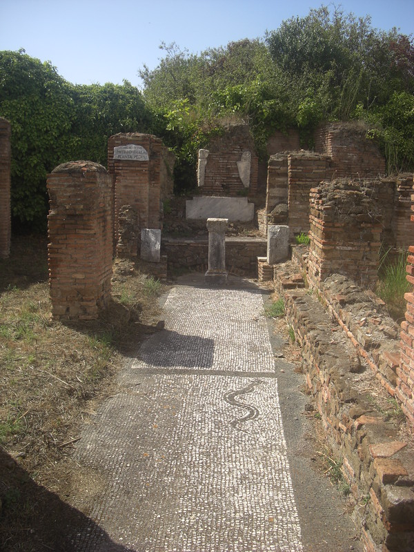 Mithraeum of the Footprint