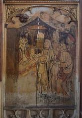 Loddon screen: Circumcision of Christ