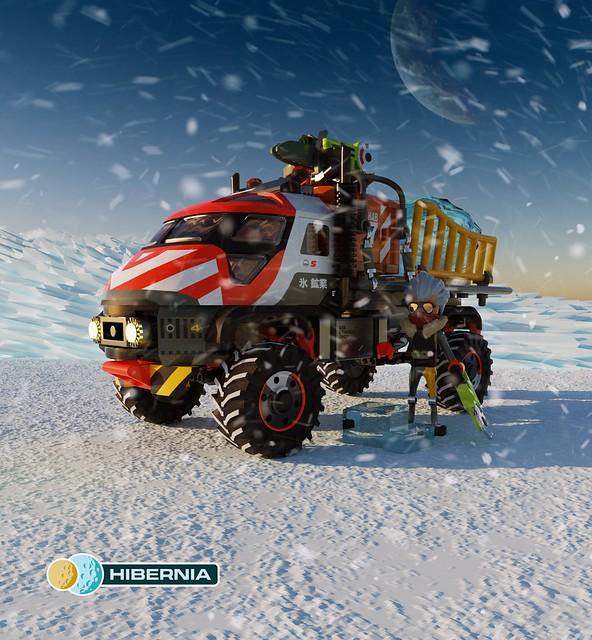 Hibernia: Alvis-Yotoda 'Yak' Ice Transport Truck
