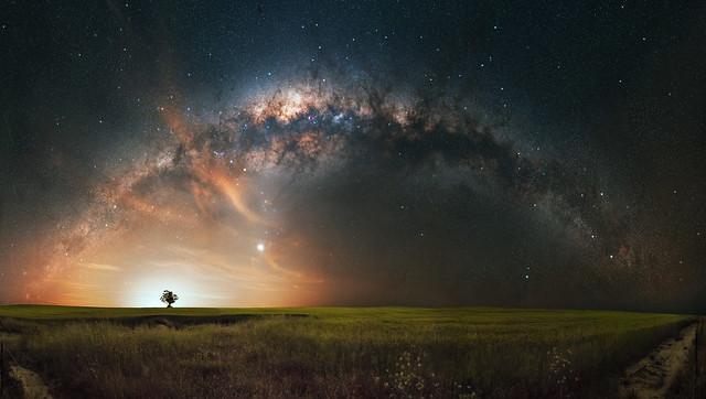 Milky Way at Wongamine, Western Australia