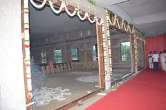 Main Door placing ceremony of Bhagavan Sri Ramakrishna Temple